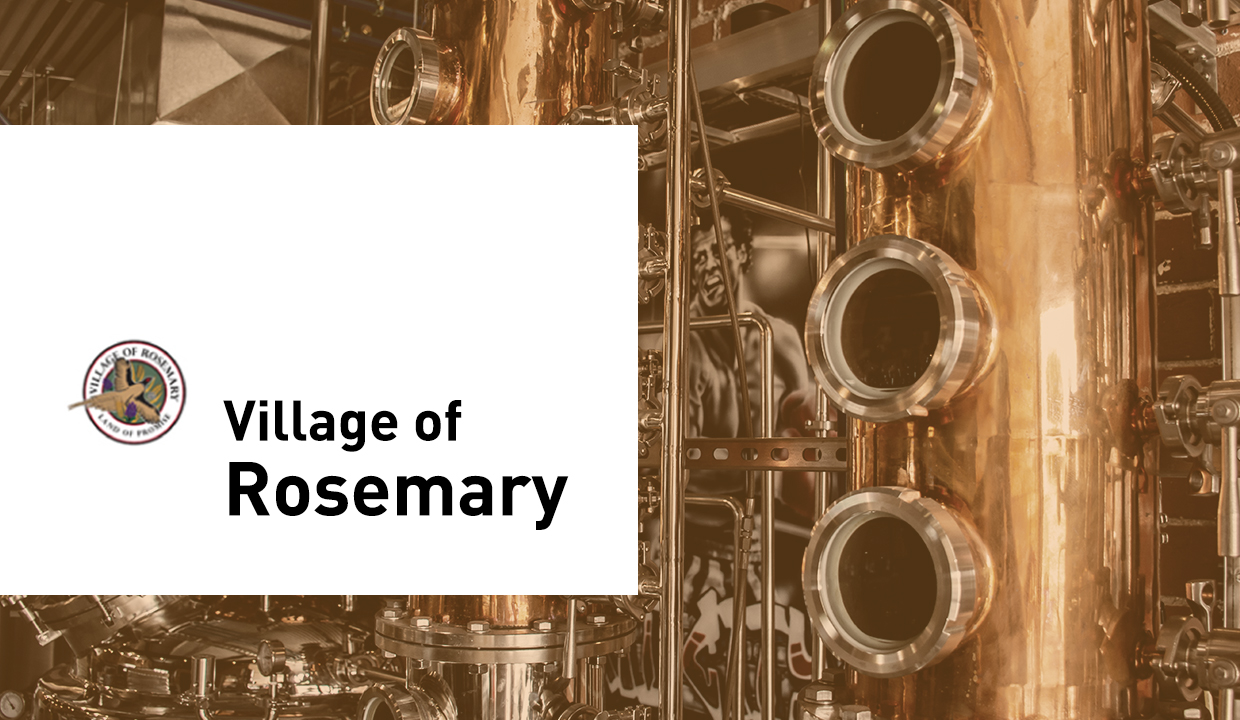 Start your distillery in Rosemary